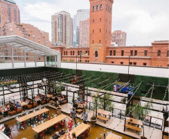 Roots Pizza Retractable Roof