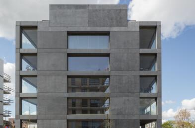 Winter Garden Housing facade details