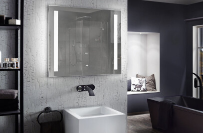 "Bathroom LED Mirror ""Motion"""