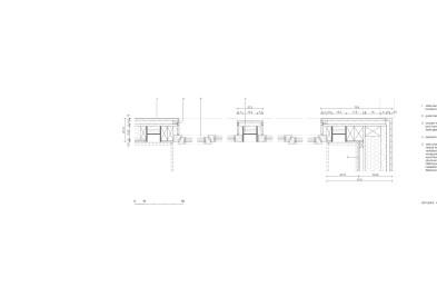 House MJ skylight horizontal section