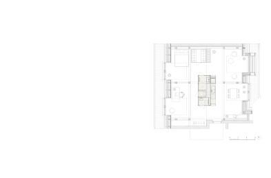 Attic Apartment Tivolska Drawing