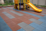 Playground Tiles for Ground Level Structure