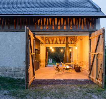Barn conversion in Loubí