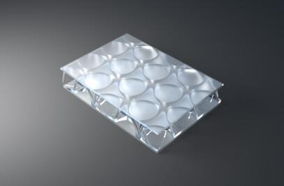 clear-PEP UV PMMA satin