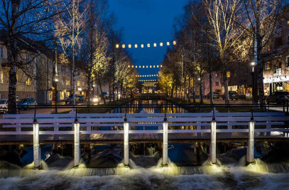 Lights in Alingsås Jubilee project