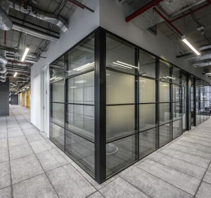 Omega | framed partition | modular system