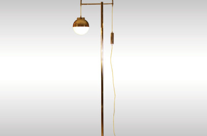 Lift Floor Lamp Art Nouveau