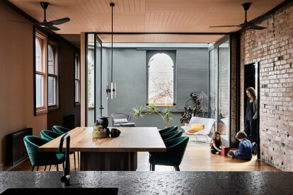 Three Stories North house fosters strong links to its original industrial character