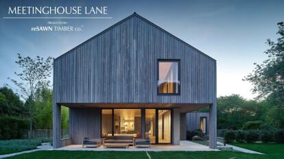 reSAWN TIMBER co. Presents Meetinghouse Lane