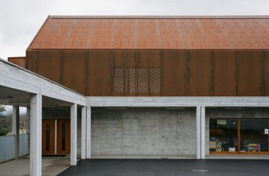 School Facility facade detail
