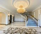 Luxury villa entrance