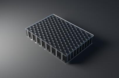 black AIR-board UV PC clear