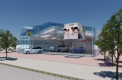 TOYOTA Car dealership 1
