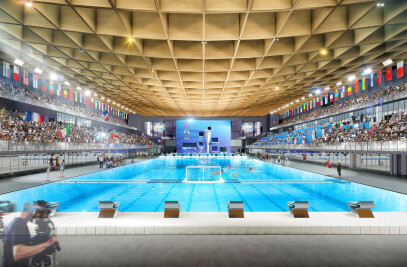 2024 Paris Olympics' Aquatic Center