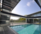 Motorized Retractable Roof and Retractable Glass Walls