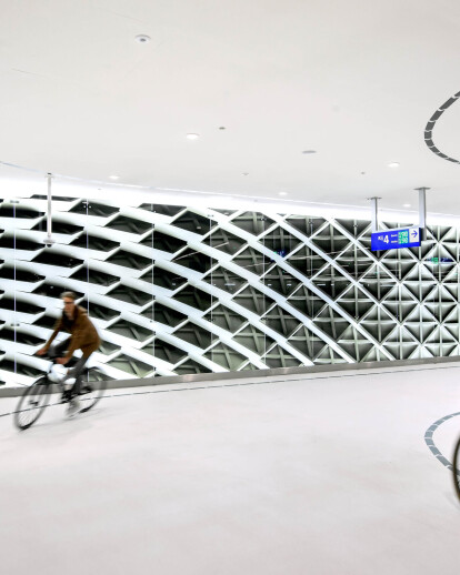 Bicycle parking The Hague