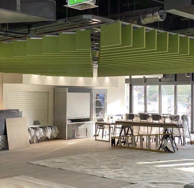 Freestyle Ceiling Baffles