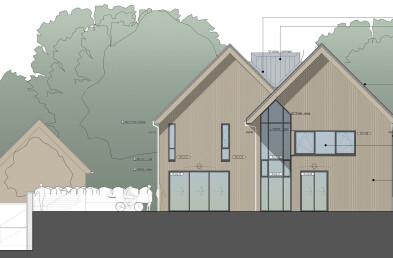 Mayfield Passivhaus details