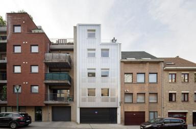 Korenbeek 161 facade detail