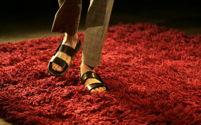 Buffo for Yves Saint Laurent fashion show in Paris