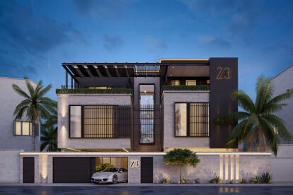 Modern Classic Home Design Comelite Architecture Structure And Interior Design Archello