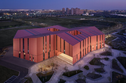 Library and archive at Tianjin Eco-City