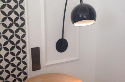 Brooklyn customized wall lamp