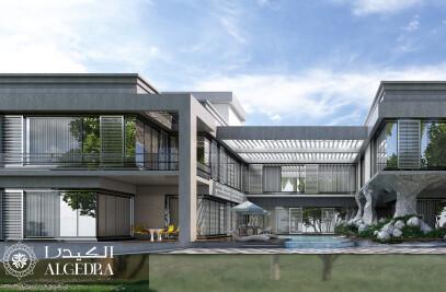 Contemporary villa in Dubai