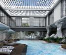 Luxury villa pool design