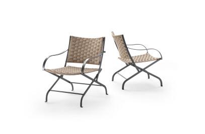 Carlotta Outdoor small armchair