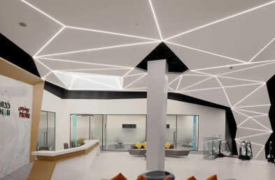Khidmah HQ ceiling entrance details