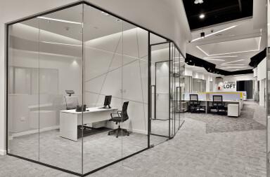 Khidmah HQ enclosed room detail