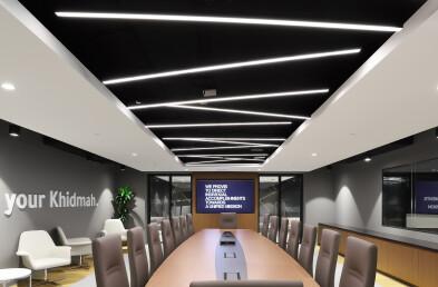 Khidmah HQ structural ceiling details