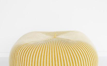 Palla with Bonnet Bi colour combination in Linea pattern