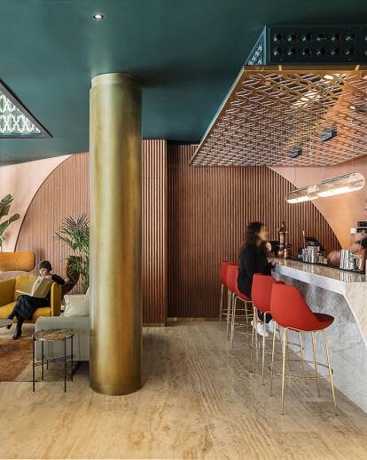 Café Got bar design embraces the urban vitality of Barcelona