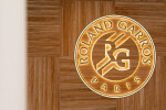 Mini Micro Perf Saint Barth Green Blade Acoustic Panel - Le Village de Roland Garros by La Maison W
