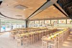 Aruba Micro Perforated Green Blade Panels - Restaurant ZA by Starck