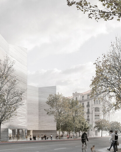 Bold and emblematic design by Mendoza Partida wins ideas competition for the MUPAC Museum