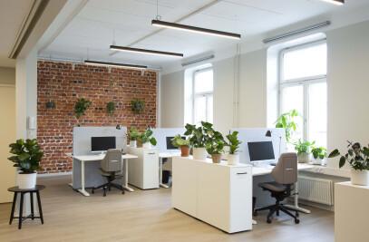MedEngine's Minimalist Helsinki Office