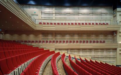 Luleå concerthall, Woodsafe PRO Plywood