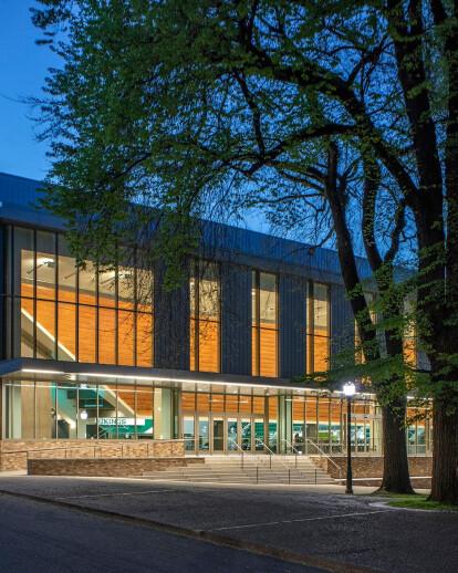 PSU Stott Center + Viking Pavilion