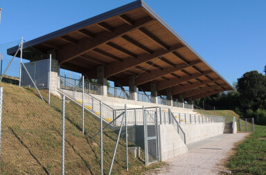 Grand stand section