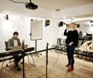 Live room music studio