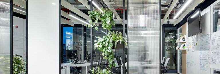 Lighting of Avito Tech office