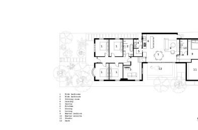 Northcote Residence floor plan