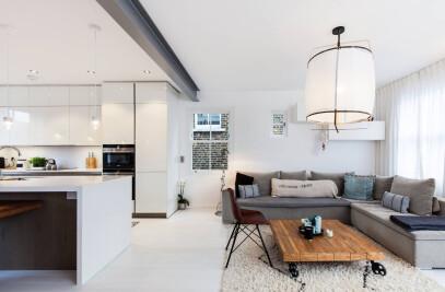 Two adjacent duplex flats
