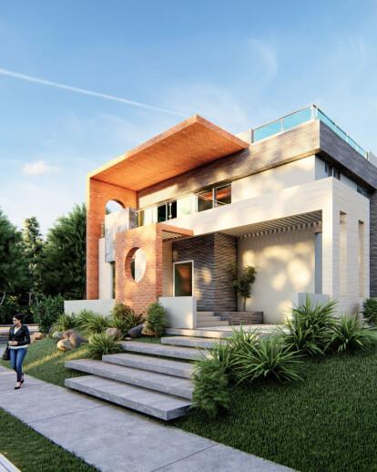 3bhk Bungalow Design Plan Plot Size 35 X40 Housestyler Archello,Studio Apartment Layouts