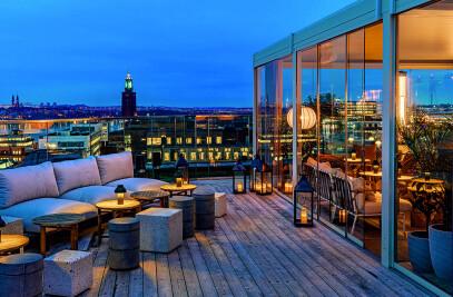 Vision tra i cieli di Stoccolma