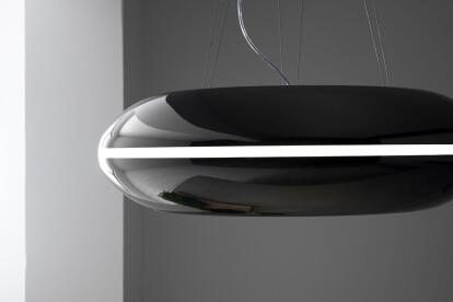"30"" Orbit Black Designer Kitchen Range Hood"
