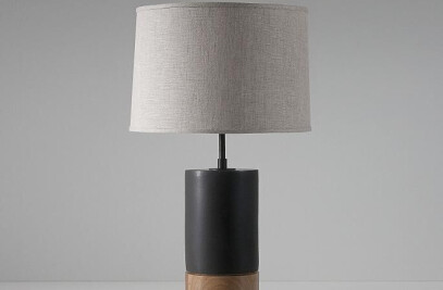 Short Baxter table lamp